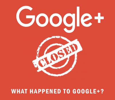 Google+ is no longer available for personal and brand accounts