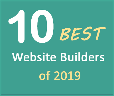 Top 10 Website Builders of 2019