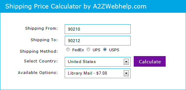 Shipping Price Calculator