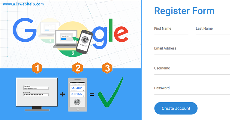 Google Two Factor Authentication Login In PHP
