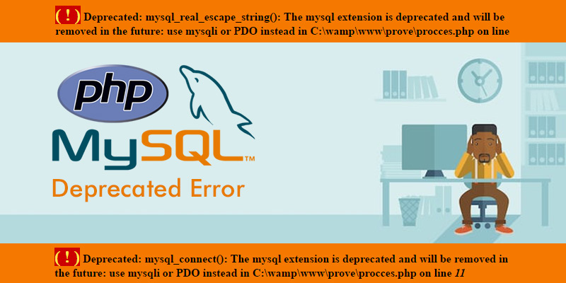mysql-deprecated-error